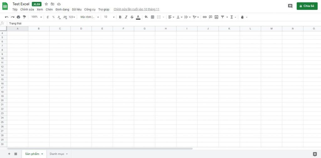 Mở file Excel lên để chỉnh sửa