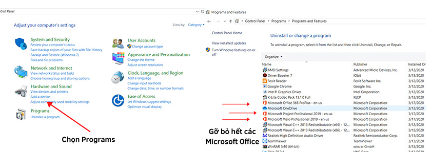 Cài đặt Microsoft Office 2020
